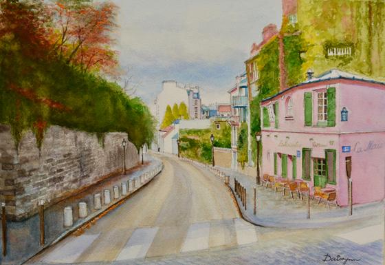 AutumnalMontmartre