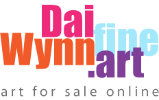 Buy art directly from the artist Dai Wynn – here