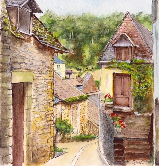 Beynac-et-Cazenac on the Dordogne, France