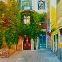 Calle Larga De La Donzela, Venezia