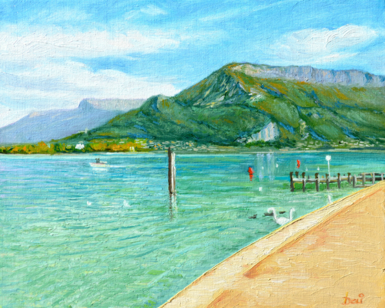 Lac Annecy France