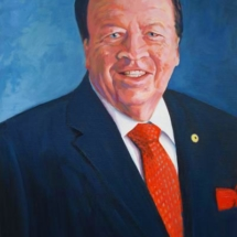 P E Daly Portrait A