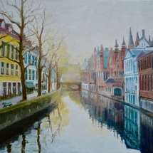 Winter Evening Bruges