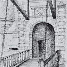 Chateau de Beynac Sketch