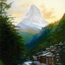 MatterhornZermattDusk