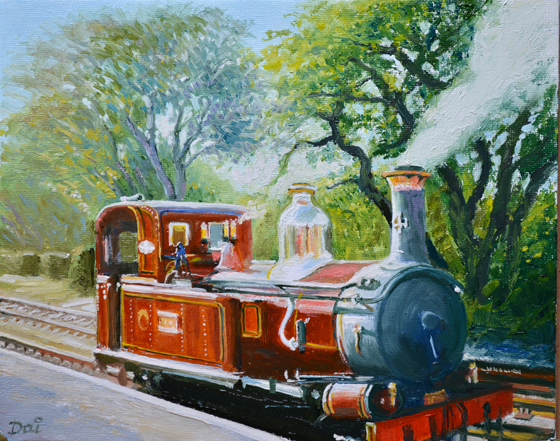 Manx Locomotive No.4