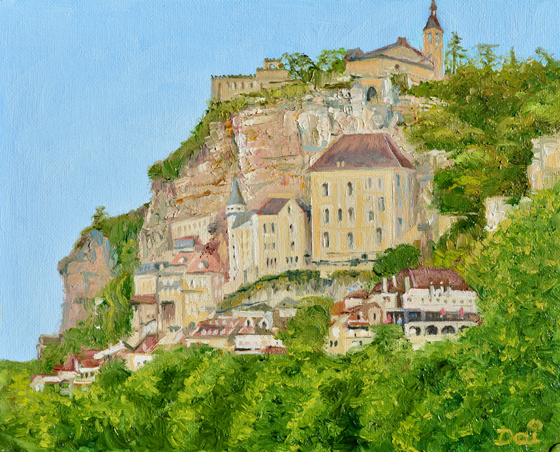 Rocamadour in south central France