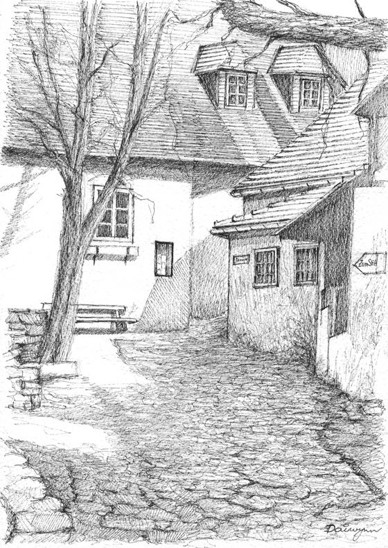 Trannergassl Durnstein Austria