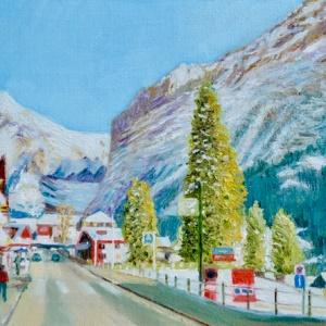 Winter in Grindelwald Switzerland