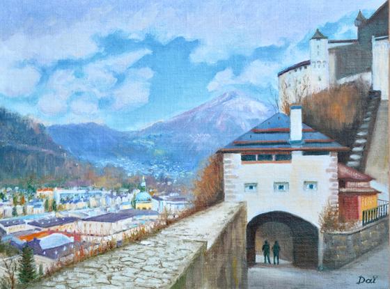 Hohensalzburg Fortress Gate