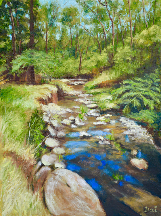 Mullum Mullum Creek Summer